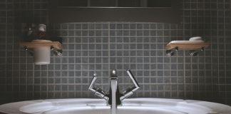 Nowoczesna łazienka – czerń i biel